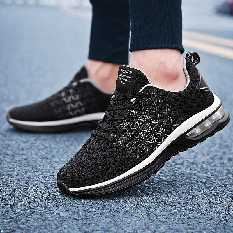 Brands adult high-quality lace-up casual shoes Breathable fashion multiple colour male masculinos Men Footwear  5