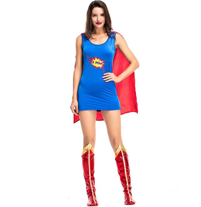 Home Adult Sexy Supergirl Costume Woman Superhero Cosplay Female Superman Costumes Girls Cosplay Party Nourishing The Kidneys Relieving Rheumatism
