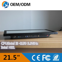 Cheap Price New Parts OEM Black 21 5 All In One Pc With I3 Cpu QY