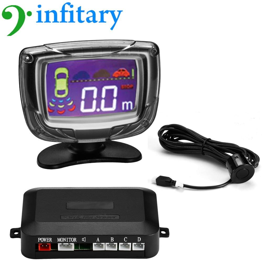 Vehicle Parking Sensors Auto Reverse Detect 4 Parking