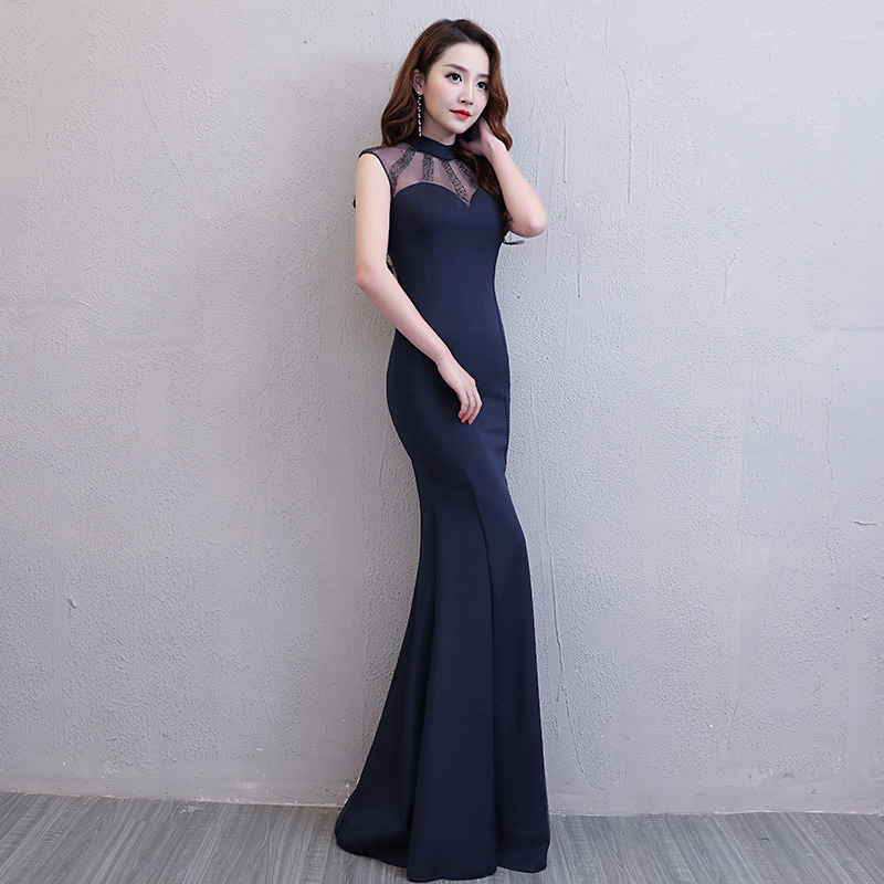Floor Length Full manual Gauzy Sexy Star full Prom Evening dresses 2018  Cocktail dress Night entertainment venue dress 150-in Celebrity-Inspired  Dresses ... 59d78e24466f