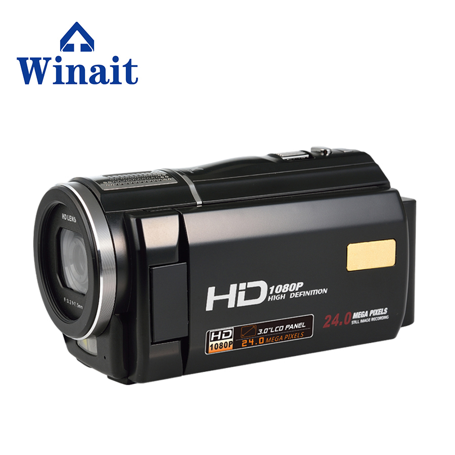 Free Shipping Full HD Digital Video Camera with 16 x Digital Zoom 6milion pixels  DV Camcorder