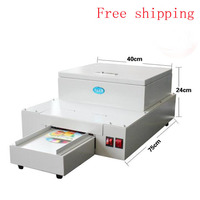 1 stücke CD DVD UV beschichtung maschine Desktop UV coater  CD laminiermaschine|machine machine|machine uvmachine laminator -