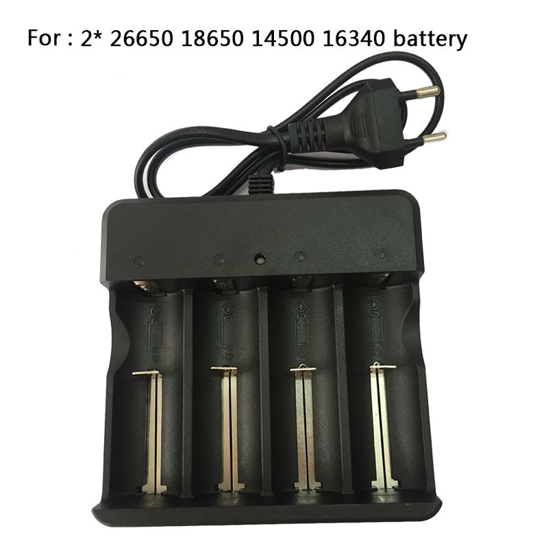 Z20 18650 Lithium Battery Charger Universal Charger Single Charger For 16340/14500/18650  Battery Lighting Accessories