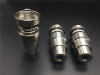 Universal 4 in 1 Domeless Titanium Nail Titanium GR2 Nails joint 14mm and 18mm male and female for bongs