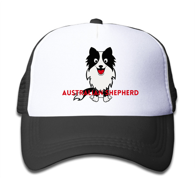 Australian Shepherd Rottweiler Cute Dog Doggie Pug Puppy Trucker Hats  Baseball Cap Tumblr Snapback Children Bone Caps Tumblr 1f5abb745c8
