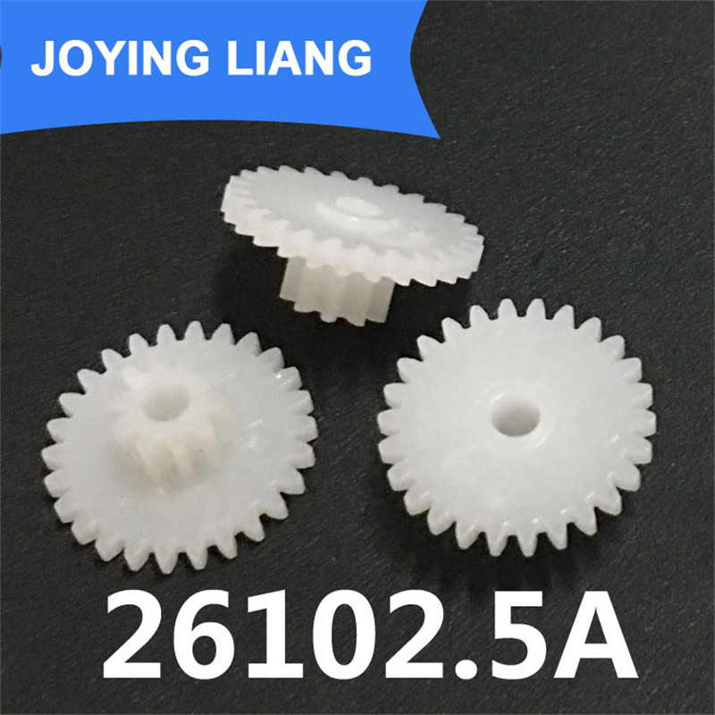 26102 5a Gears Module 0 5 Plastic Gear Two Layers  Teeth 2 5mm Tight Shaft Hole Gear Wheel 2500pcs Lot In Gears From Home Improvement On