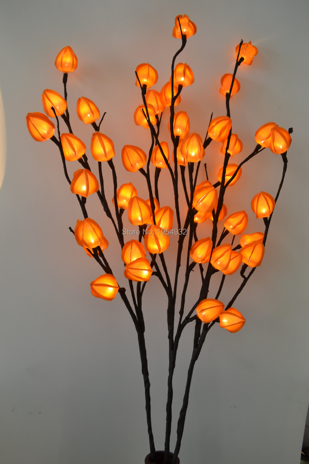 40 Height With 48 Led Electric Type Chinese Lantern Branch Lights 3 Color To Coice Living Room Decoration