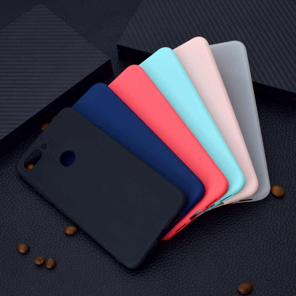 Cute Candy Soft phone case For Xiaomi 5X 6X Xiaomi A1 A2 Matte Colorful phone Cover fundas coque etui