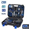 Prostormer 210 Pcs DIY Haushalt Holz Hand Werkzeuge Set Kit Mit Auto Reparatur Steckschlüssel Schraubendreher Werkzeug mit Storage Tool