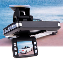 "2 in1 Automotive DVR+Radar Russian& English imaginative and prescient 2"" LCD Automotive DVR radar Recorder Radar Laser Velocity Detector Night time Imaginative and prescient Led Show"