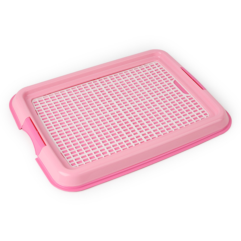 Reusable Puppy Training Pad with Grid Tray for Pets Potty Training Made with PP Resin Material 9
