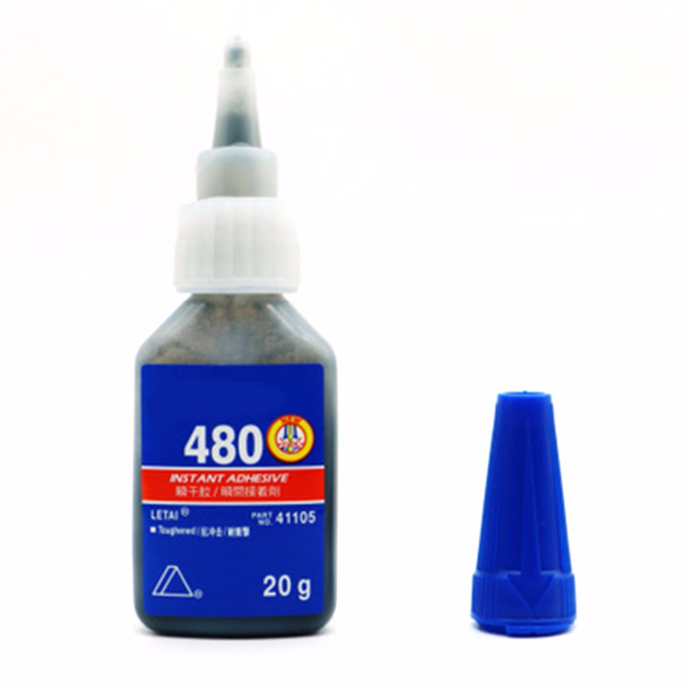 For Plastic/Wood Instant Adhesive For Office/School Liquid Glue Bottle Super Glue Quick-drying Stronger 20g 406/480/403/495