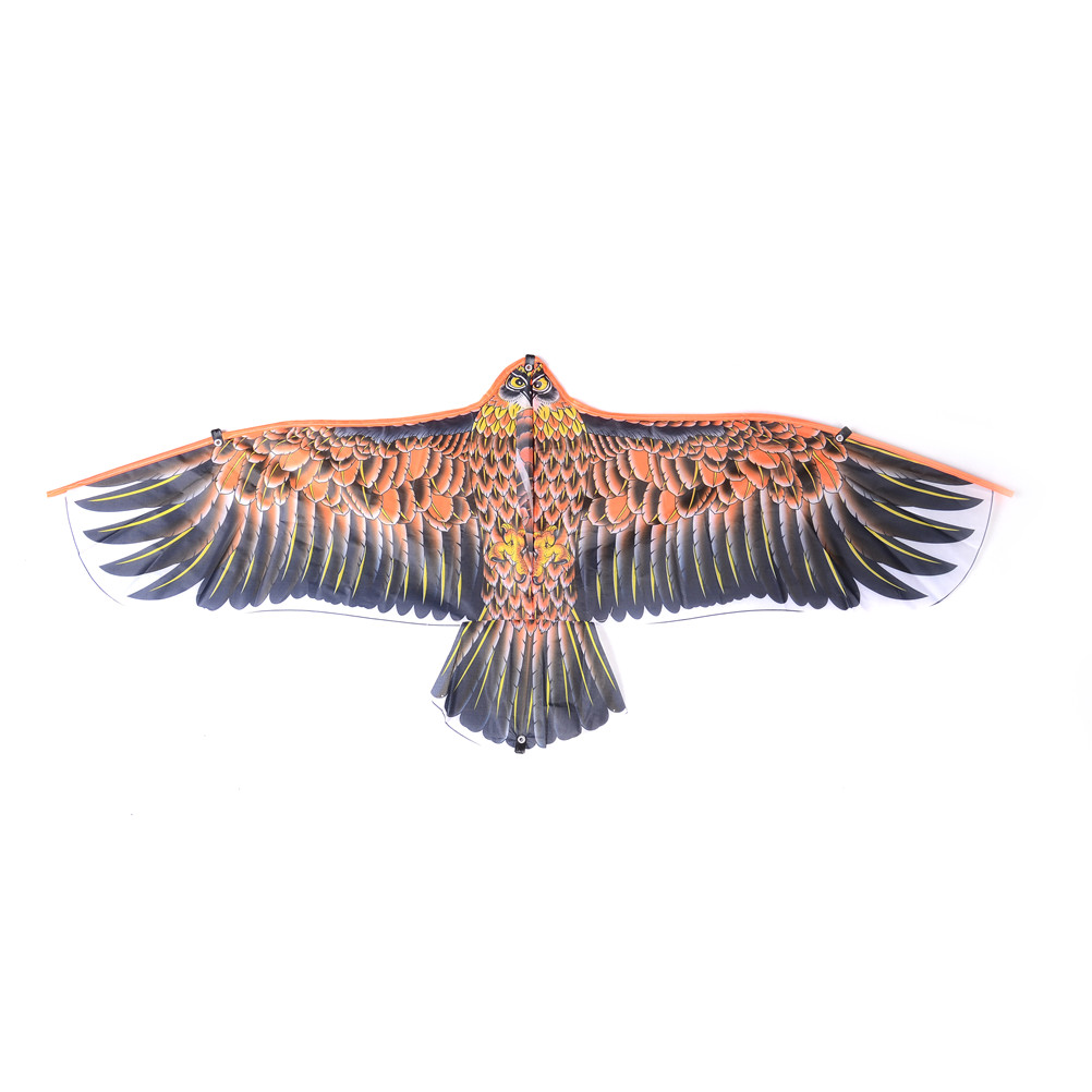 High Quality 1.02m Golden Eagle Kite With Handle Line Kite Games Bird Kite Weifang Chinese Kite Flying Dragon Hcx Fast Shipping