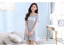 Free Shipping2016 New  summer style Nightgown Nightdress pijama Ladies Sleepwear Women nightwear AZ771