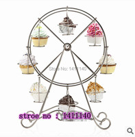 Cake Tool Ferris Wheel 8 Cups Cupcake Stand Cake Holder Display Wedding Party Birthday Party Decorations