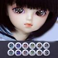 Colorful  bjd doll eyes for 1/3 1/4 1/6 BJD Dolls toys sd red black golden eyeball 8mm 16mm 18mm 20mm Acrylic EYEs for dolls