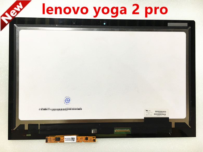 TOP quality for Lenovo Ideapad Yoga2 Pro 13.3 LCD LTN133YL01-L01 touch screen panel digitizer assembly display 3200X1800