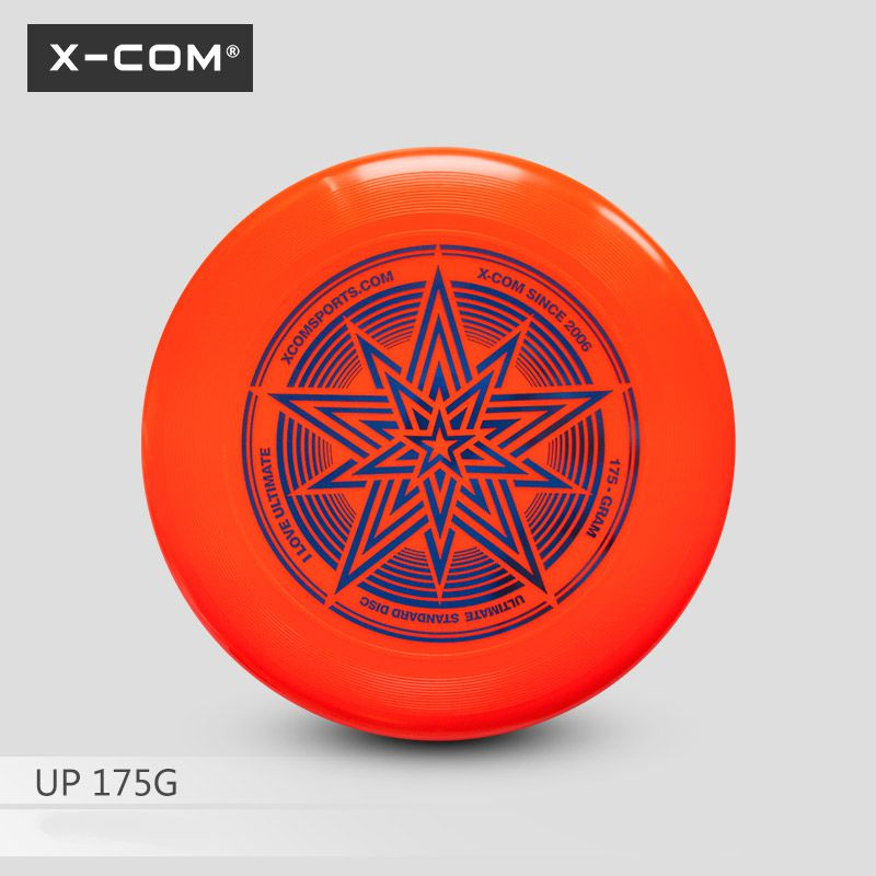 X-COM Professional Ultimate Flying Disc Certified By WFDF For Ultimate Disc Competition Sports 175g