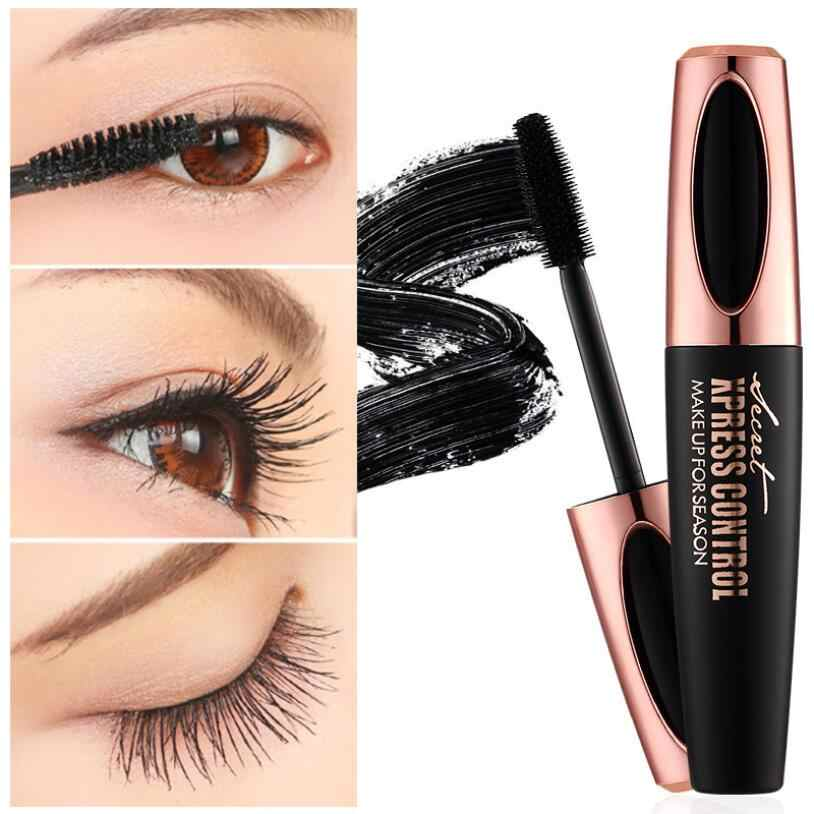 c4ab82fbd4f 4D Silk Fiber Lash Mascara Makeup Eyelash Mascara Eye Lashes Make Up  Waterproof Curling Mascara for