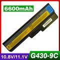 6600 mah bateria do portátil para lenovo 3000 b460 b550 g430 g450 G555 G455 G530 G550 N500 V460 Z360 42T4725 42T4726 51J0226 57Y6266