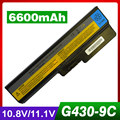6600mAh laptop battery for LENOVO 3000 B460 B550 G430  G450 G455 G530 G550 G555 N500 V460 Z360 42T4725 42T4726 51J0226 57Y6266