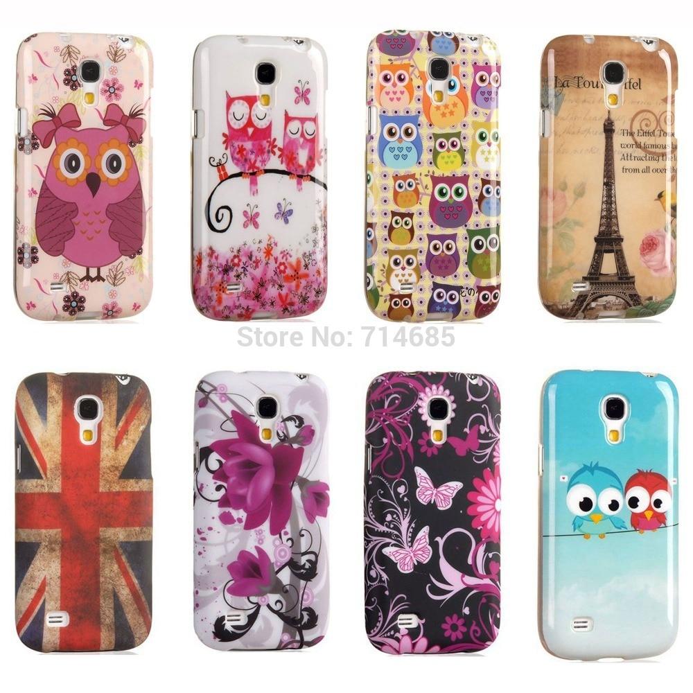 new arrival f2f37 d0b1f US $4.15 |Free Shipping TPU Silicon Phone Case for Samsung GALAXY S4 mini  Back Cover Etui Eiffel Indian Polka Dot Owl Flag S4mini i9190 on ...