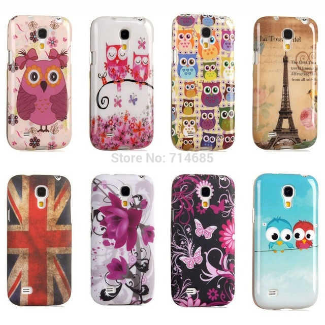 new arrival f8fa6 93d2c US $4.15 |Free Shipping TPU Silicon Phone Case for Samsung GALAXY S4 mini  Back Cover Etui Eiffel Indian Polka Dot Owl Flag S4mini i9190 on ...