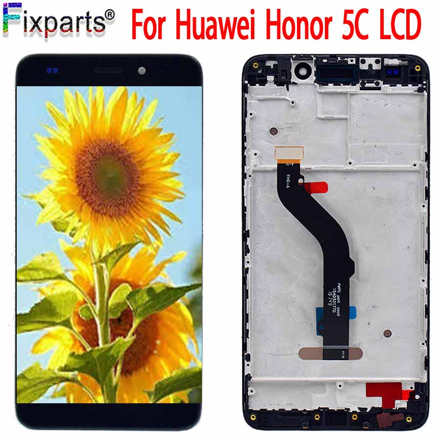 <font><b>Huawei</b></font> <font><b>Honor</b></font> 5C <font><b>7</b></font> <font><b>Lite</b></font> GT3 LCD <font><b>Display</b></font> Touch Screen Digitizer Assembly With Frame <font><b>Display</b></font> Replacement 5.2