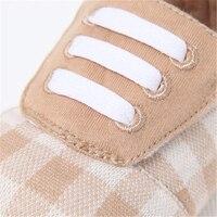 Suela blanda de La Muchacha Zapatos del Pesebre Infant Toddler Calzado Sólido de Punto de Algodón Lindo de la Alta Calidad de los Bebés de Invierno 80A1055