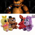 Free shipping 2016 Five Nights at Freddy 4pcs/lot 25cm Kids Movie Plush Five Nights Of Freddy Toys Bear & Fox& Duck & Rabbit