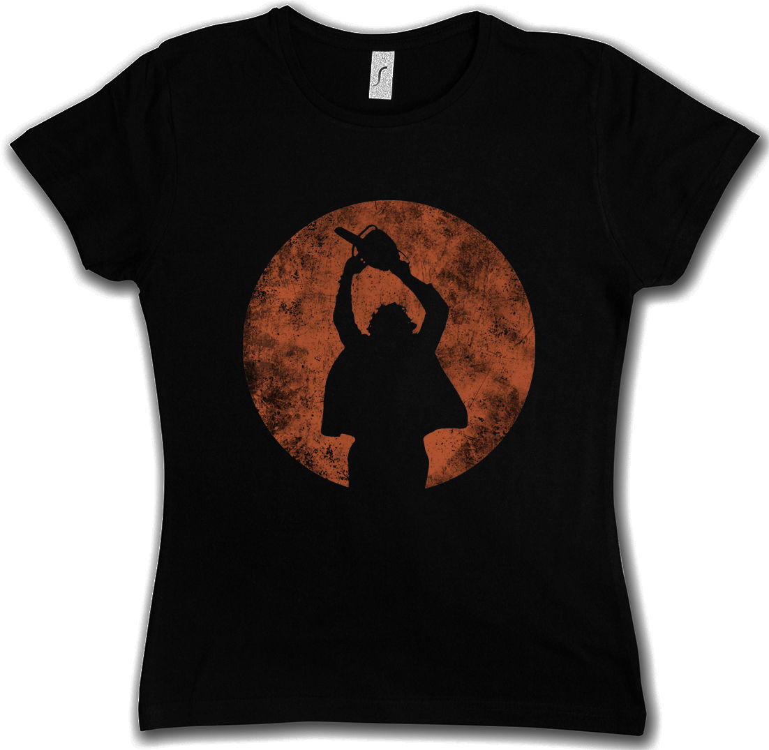 Women's T Shirt Wholesale Chainsaw Man T-shirt Massaker Texas Horror Movie Massacre Leatherface Mask
