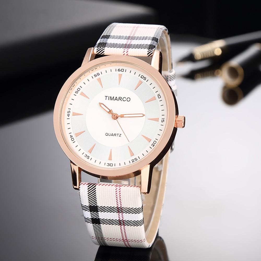 2019 New Luxury Rose Gold Leather Watches Women Top Brand Fashion Watch Minimalist Ladies Casual Wrist Watch Female Dress Clock