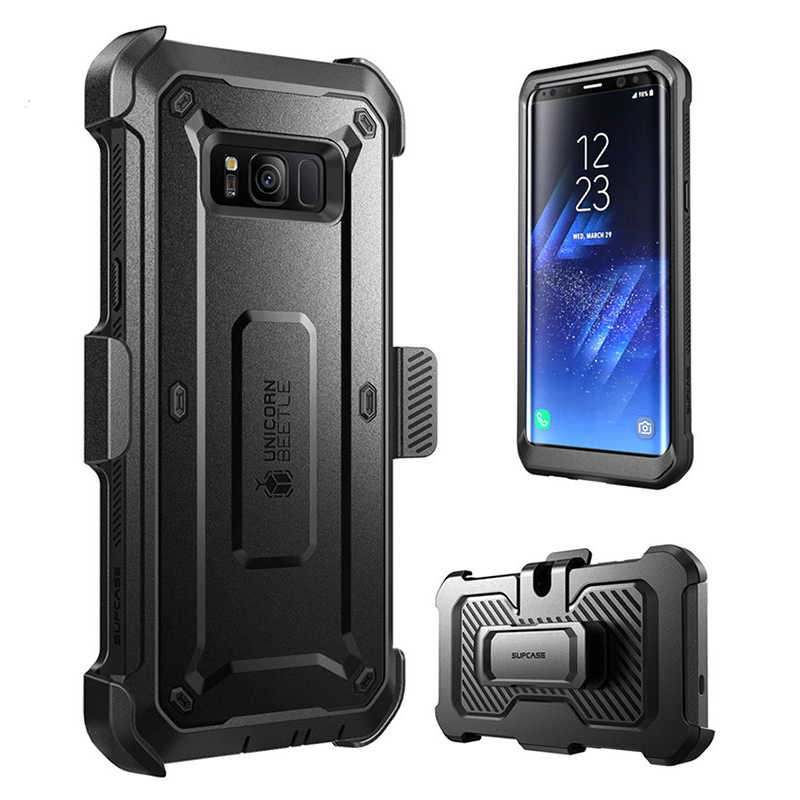 For Samsung Galaxy S8Plus Case SUPCASE UB Pro Full-Body Rugged Holster Cover With Built-in Screen Protector Case For Galaxy S8+
