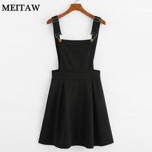 Летнее женское мини платье для вечеринки, Повседневное платье без рукавов на молнии сзади, Осеннее черное Плиссированное Платье-комбинезон, большие размеры