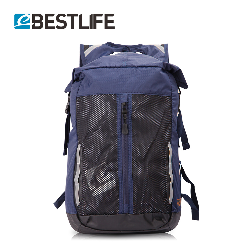BESTLIFE Flap Pocket Urban Small Bagpack Men Laptop Backpack Light Weight Portable Trave ...