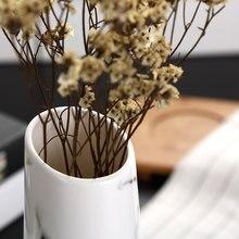 Marble flower inserted Ceramic White Tabletop Vase Home Decoration vase Fashion Modern vases