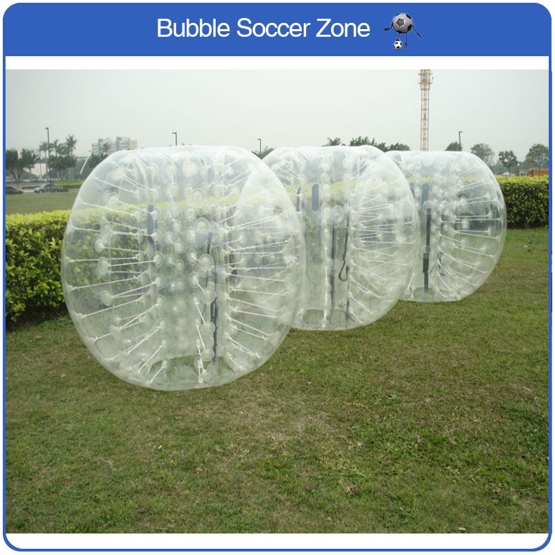 Free Shipping 0.8mm PVC 1.5m Inflatable Bubble Football Bumper Ball Inflatable Bubble Soccer Ball Body Zorb Ball For Adult