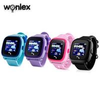 Wonlex GW400S wodoodporny IP67 inteligentny telefon zegarek z GPS dla dzieci GSM lokalizator gprs Tracker Anti-Lost ekran dotykowy dzieci GPS Unisex zegarek