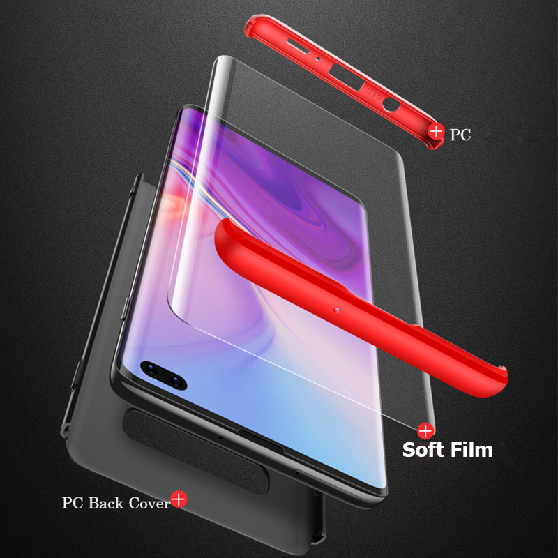 360 Full Shockproof Armor Case For Samsung Galaxy S10 S10e Matte Hard PC Protective Cover Note 9 S9 S8 S10 Plus Phone Case Film in Fitted Cases from Cellphones Telecommunications