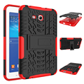 Hybrid PC+TPU Armor Hard Back With Stand Shockproof Tablet Case For Samsung Galaxy Tab 3/4 Lite 7.0 T110 T116 SM-T110 SM-T116
