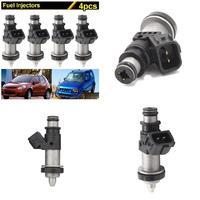 4Pcs Car Fuel Injector For Suzuki GSXR 600 750 1000 Hayabusa GSX1300 15710 24F00 CSL2017