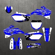06 09 yz250f yz450f, kit de adesivos gráficos personalizados gratuitos, decalque para yamaha yzf 250 yzf250 yzf450 2006 2007 2008 2009