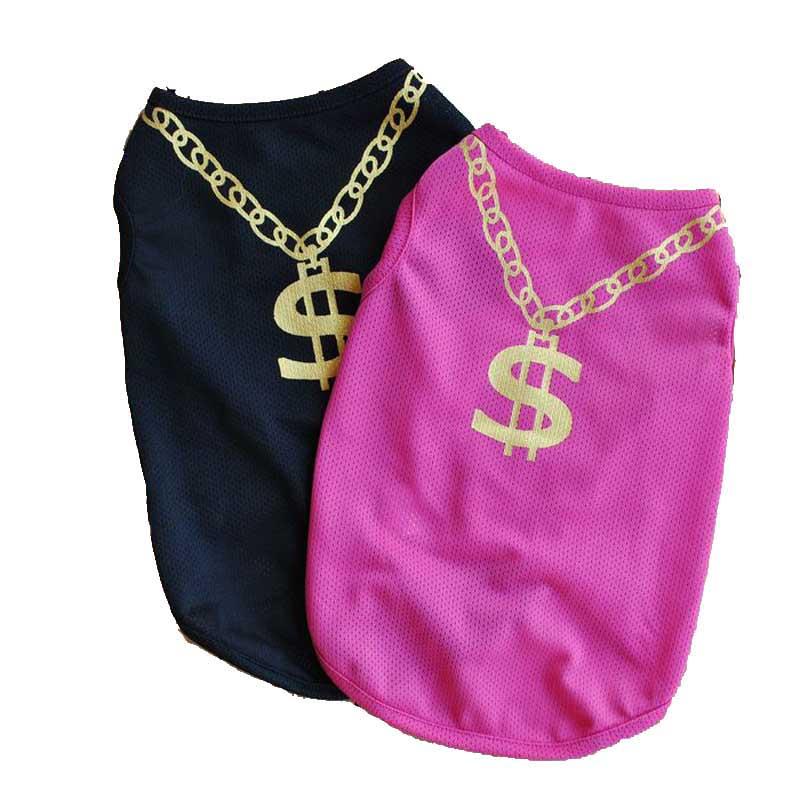 Gehoorzaam Nieuwe Gekwalificeerde Dropship 2017 Pet Puppy Kleine Hond Kat Pet Kleding Vest T Shirt Kleding Ademend Mesh Vest Xs/ S/m/l #30
