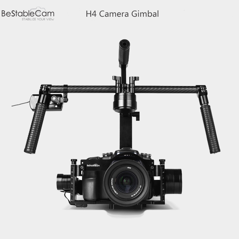 BeStableCam H4 RTF Brushless Handheld Encoder Mirrorless Digital Camera Gimbal Gyro Stabilizer for GH3 GH4 A7S Nex5 BMPCC yuneec typhoon h rtf black grey гексакоптер