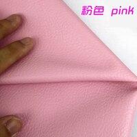 Розовый из искусственной кожи Искусственная кожа Ткань Вышивание синтетическая искусственная кожа для поделок мешок Материал 54