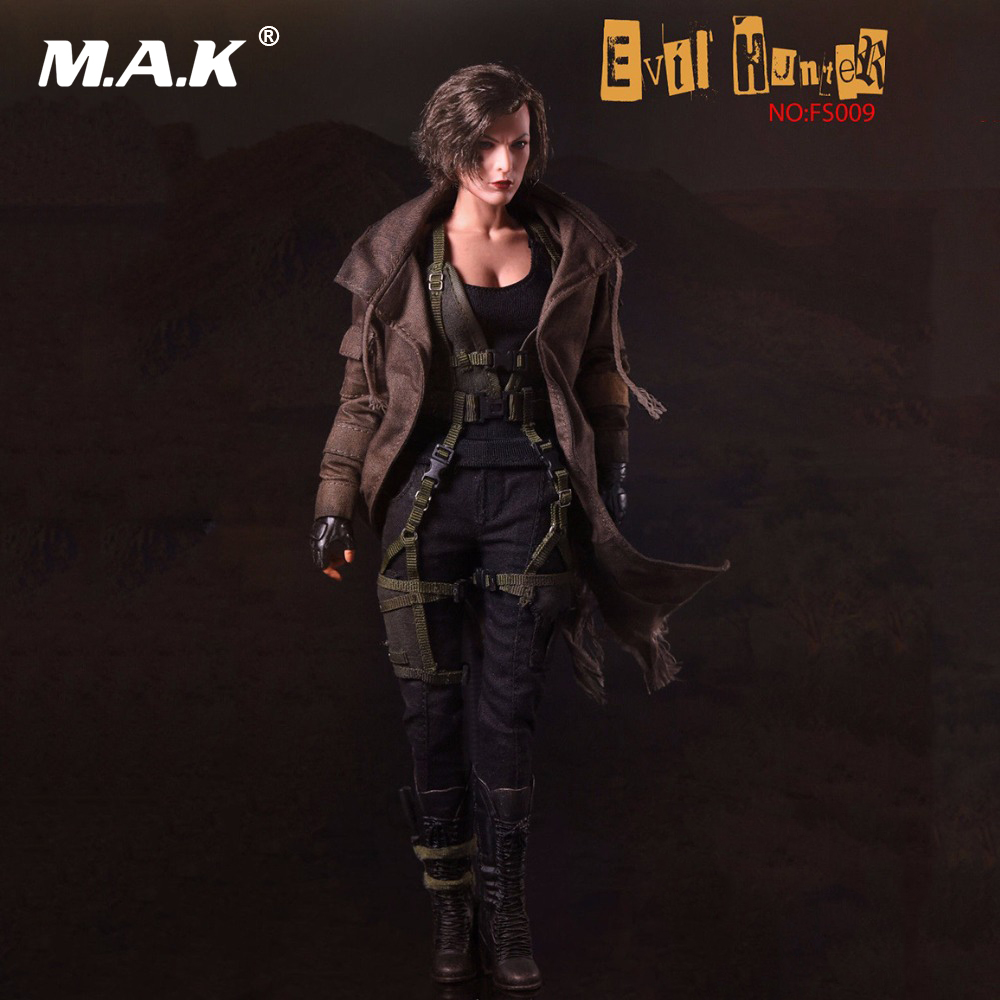Movie SW Our world 1/6 Scale Evil Hunter Alice Action Figure Full Set FS009 Collectible With Weapon Model 2016 bigbang world our made final in seoul live