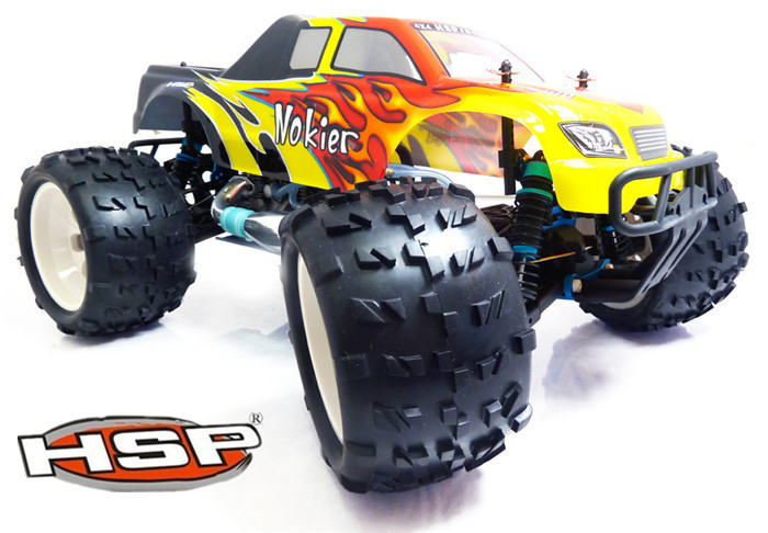 Monster Truck Rc Cars >> HSP Rc Car 1/8 Scale Models Nitro Gas Off Road Monster ...