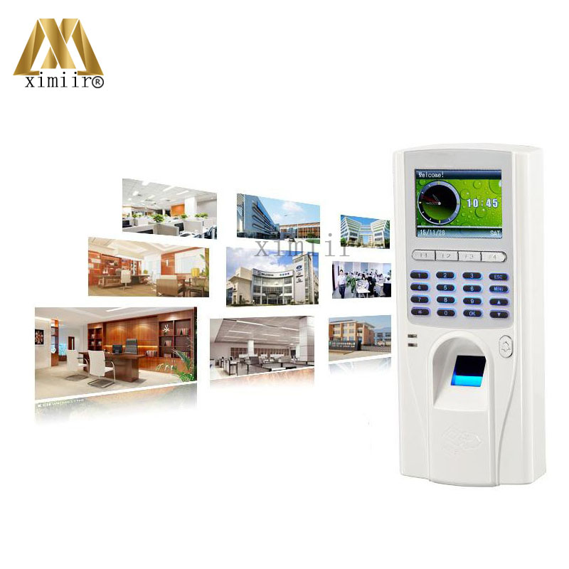 Biometric Fingerprint And 125KHZ RFID Card Access Control With Keypad TCP/IP Standalone Door Access Control Systems TFS-6 good quality waterproof fingerprint reader standalone tcp ip fingerprint access control system smat biometric door lock