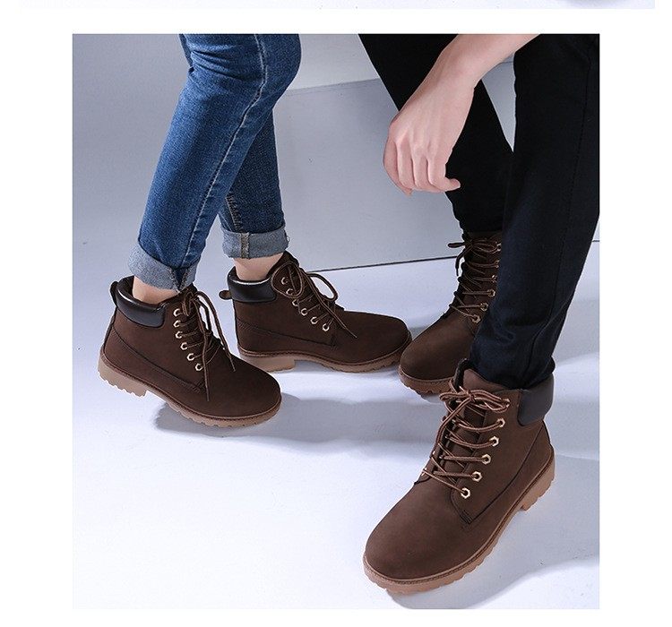 autumn Plush Snow Boots Women Wedges Knee-high Slip-resistant Boots Thermal Female Cotton-padded Shoes Warm Size G2W 19
